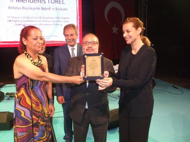 Antalya Dostluk Gecesi düzenlendi