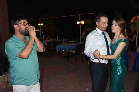 Gaziantep Restoran'da nişanlandılar