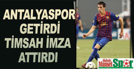 Antalyaspor getirdi Timsah imza attırdı