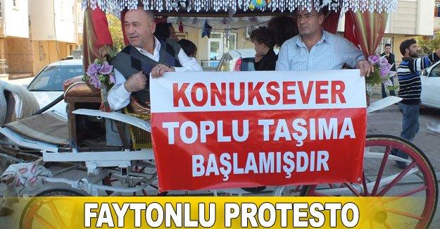 Faytonlu protesto