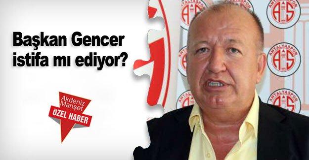 Başkan Gencer istifa mı ediyor?