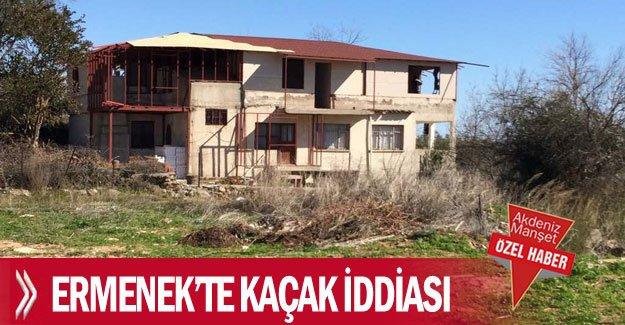 Ermenek'te kaçak iddiası