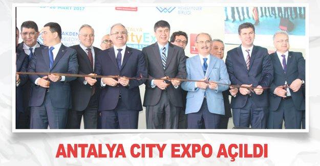 Antalya City Expo açıldı