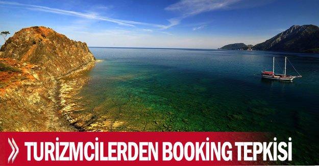 Turizmcilerden Booking tepkisi