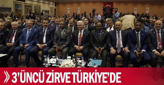 3'üncü zirve Türkiye'de