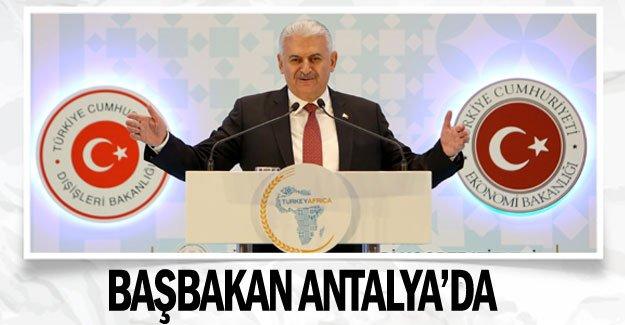Başbakan Antalya'da