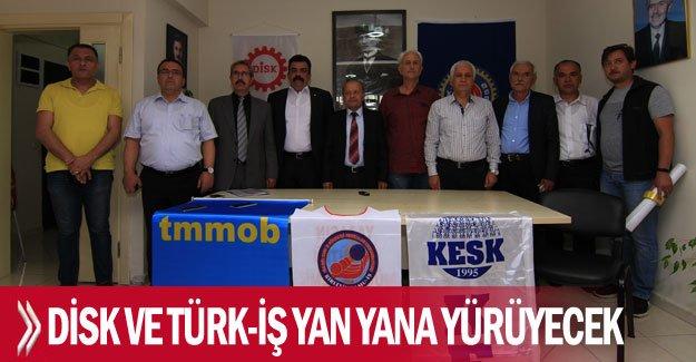 DİSK ve Türk-İş yan yana yürüyecek