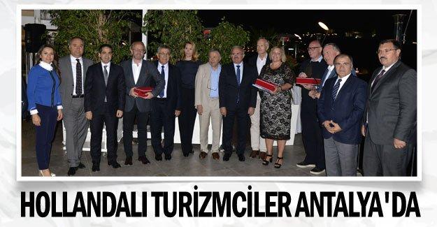Hollandalı turizmciler Antalya'da