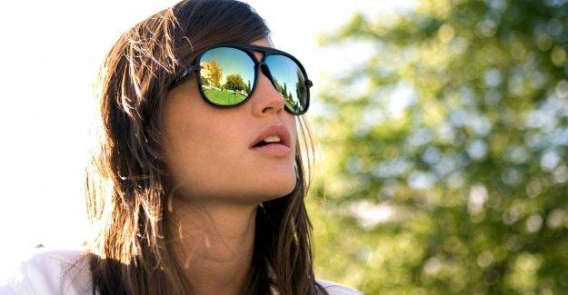 İmitasyon gözlük tepkisi