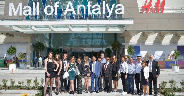 Mall of Antalya açıldı