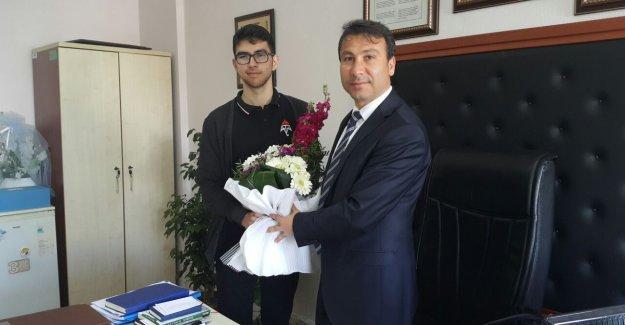 Türkiye 28'incisi Adem Tolunay'dan