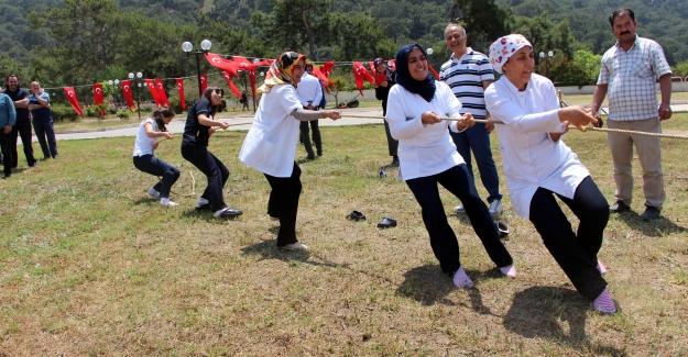 Hastane çalışanları Hıdırellez'i kutladı