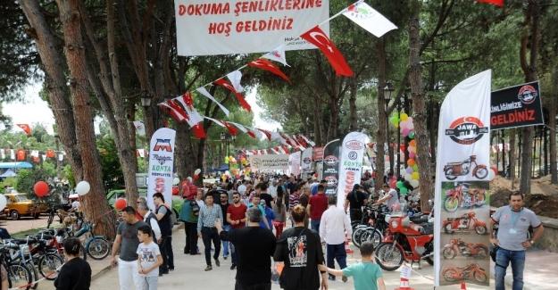 Kepez Belediyesi 'Dokuma'yı şenlendirdi'
