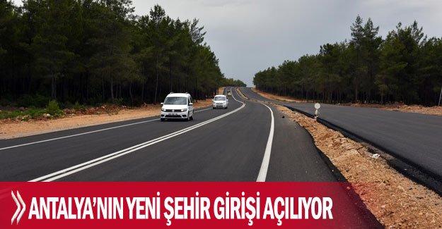 Antalya'nın yeni şehir girişi açılıyor