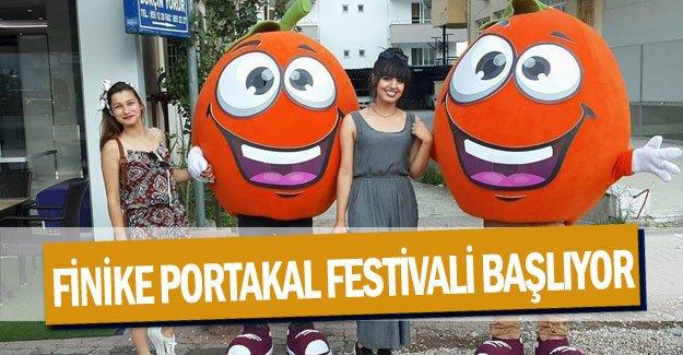 Finike Portakal Festivali başlıyor