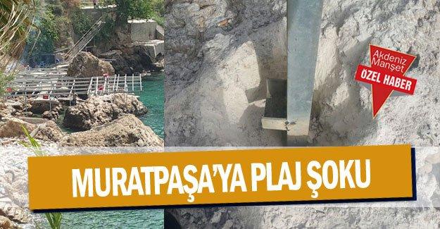 Muratpaşa'ya plaj şoku