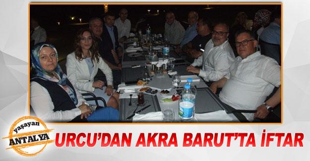 URCU'DAN AKRA BARUT'TA İFTAR