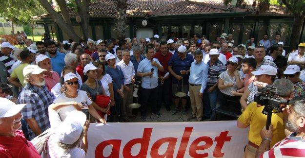 'Adalet Yürüyüşü'ne Antalya'dan destek