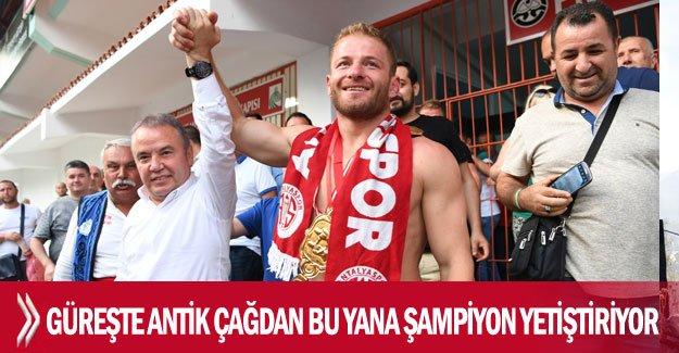 Antalya, güreşte antik çağdan bu yana şampiyon yetiştiriyor