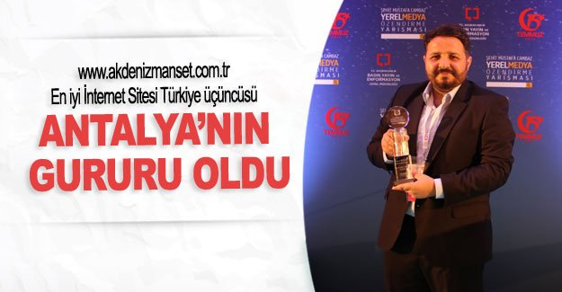 Antalya'nın gururu oldu