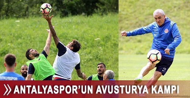 Antalyaspor'un Avusturya kampı