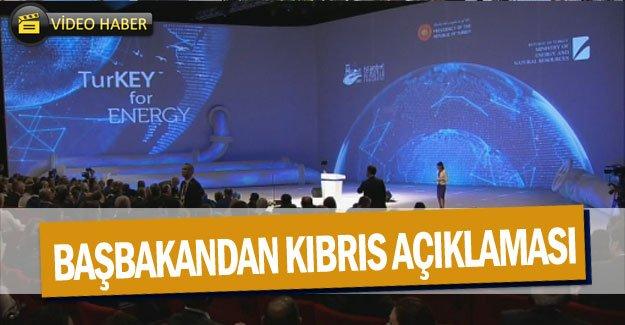 Başbakandan Kıbrıs açıklaması