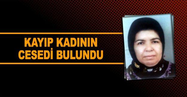 Kayıp kadının cesedi bulundu