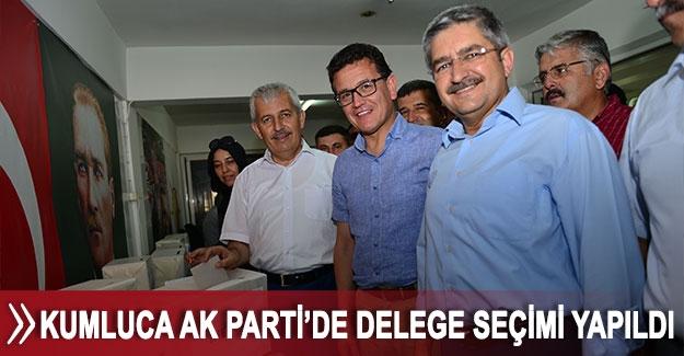 Kumluca AK Parti'de delege seçimi yapıldı