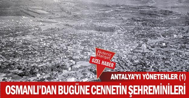 Antalya surlarını yıktıran başkan!
