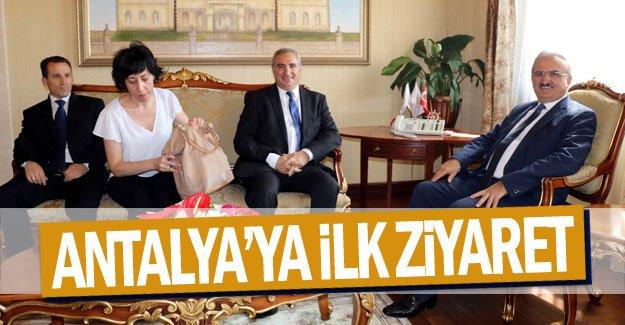 Antalya'ya ilk ziyaret