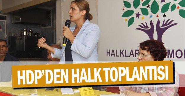 HDP'den halk toplantısı