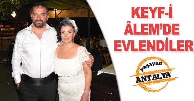 Keyf-i Âlem'de evlendiler