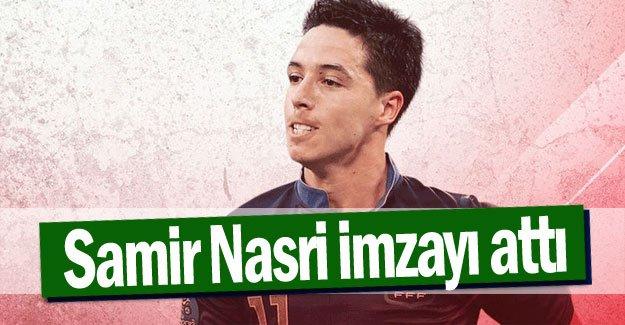 Samir Nasri imzayı attı