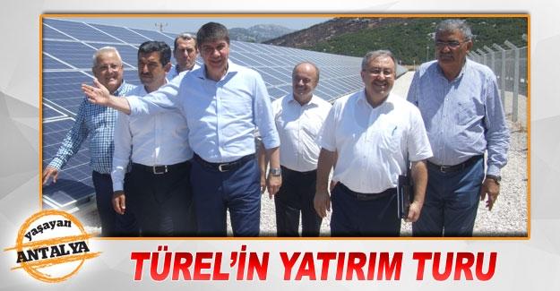 Türel'in yatırım turu