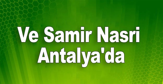 Antalyaspor  10'a kavuştu