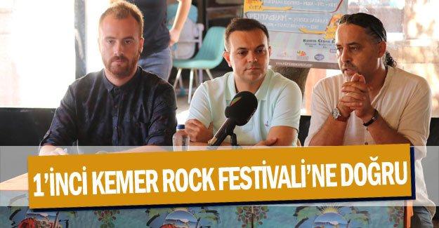 1'inci Kemer Rock Festivali'ne doğru