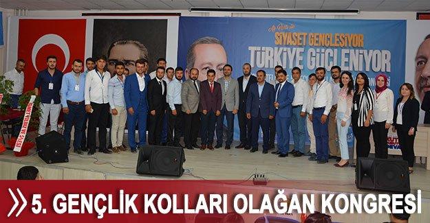 AK Parti Korkuteli 5. Gençlik Kolları Olağan Kongresi