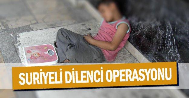 Antalya'da Suriyeli dilenci operasyonu