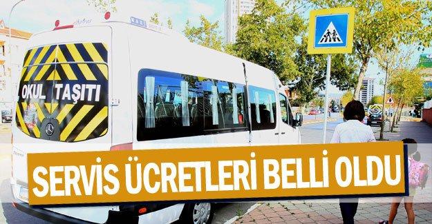 Antalya'da servis ücretleri belli oldu