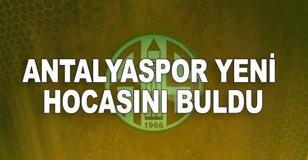 Antalyaspor yeni hocasını buldu