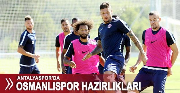 Antalyaspor'da Osmanlıspor hazırlıkları