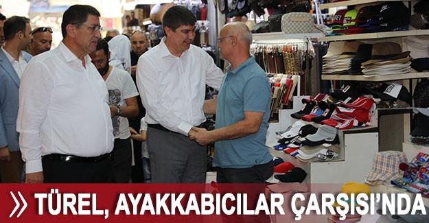 Başkan Türel, Ayakkabıcılar Çarşısı'nda