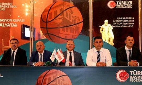 Basketbolun kalbi Antalya'da atacak