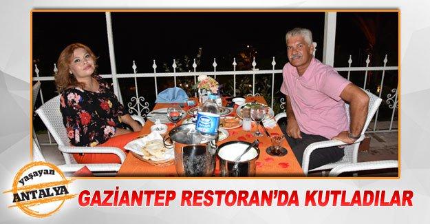 Gaziantep Restoran'da kutladılar