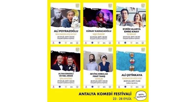 Komedi Festivali kahkahaya doyuracak