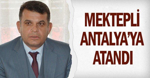 Mektepli Antalya'ya atandı