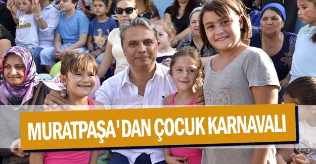 Muratpaşa'dan çocuk karnavalı