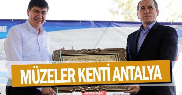 Müzeler kenti Antalya