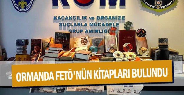Ormanda FETÖ'nün kitapları bulundu