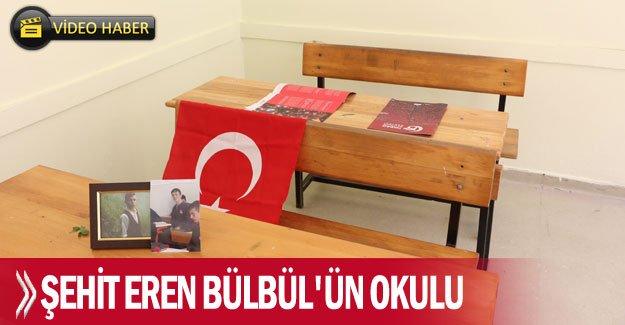 Şehit Eren Bülbül'ün okulu